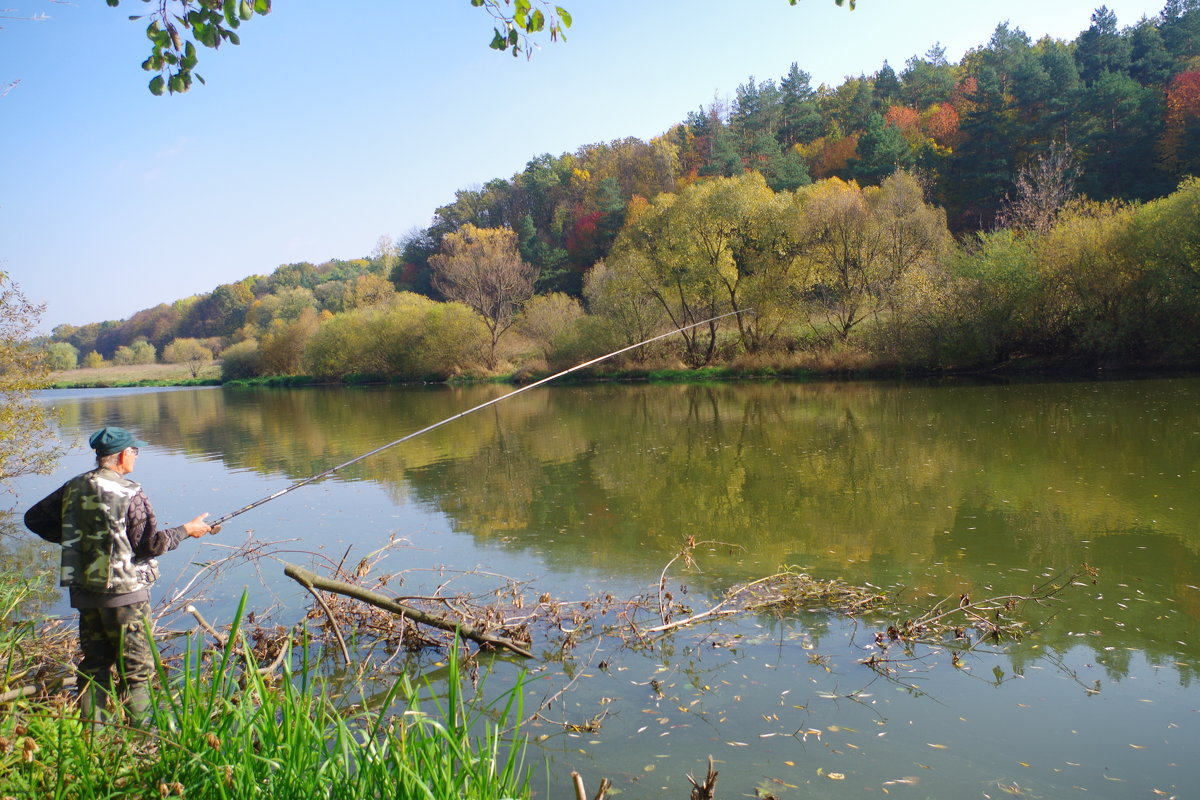 осенняя рыбалка - юрий иванов