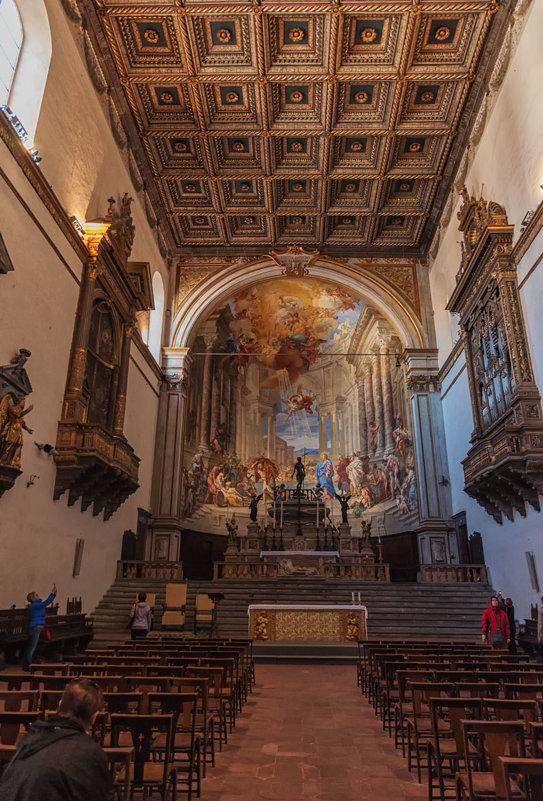Сиена. Церковь в комплексе Санта Мария делла Скала. - Надежда Лаптева