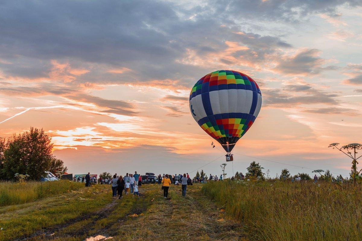 Фестиваль воздушных шаров. Переславль-Залесский - Vladislav Gushin