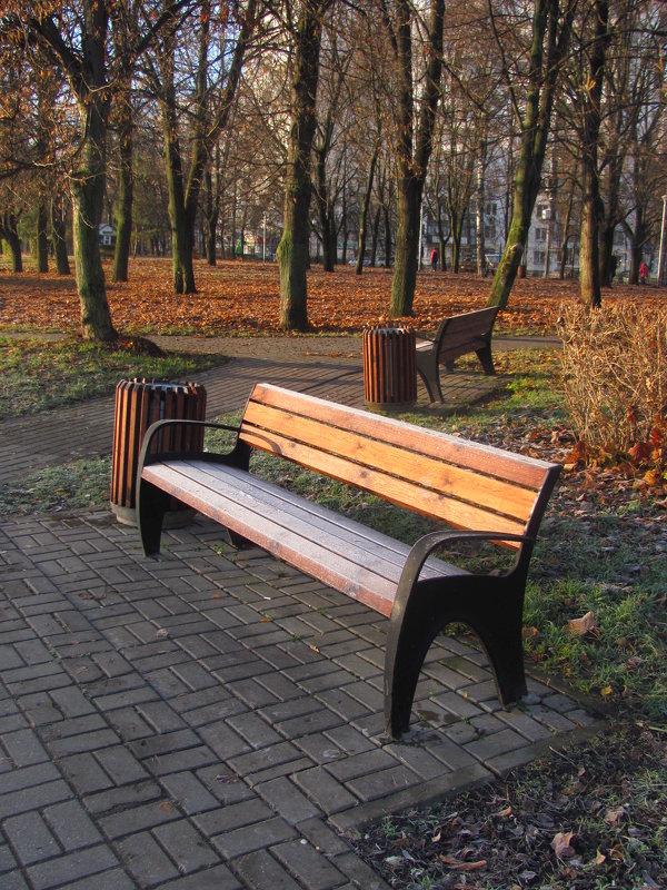 скамейка - Зинаида