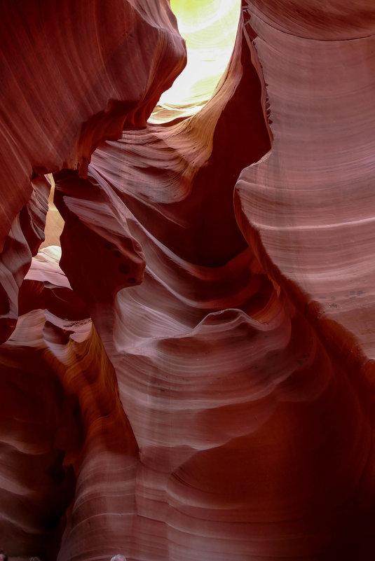 """Спустились еще ниже, на самое дно каньона """"Антилопа"""" (Аризона, США) - Юрий Поляков"""
