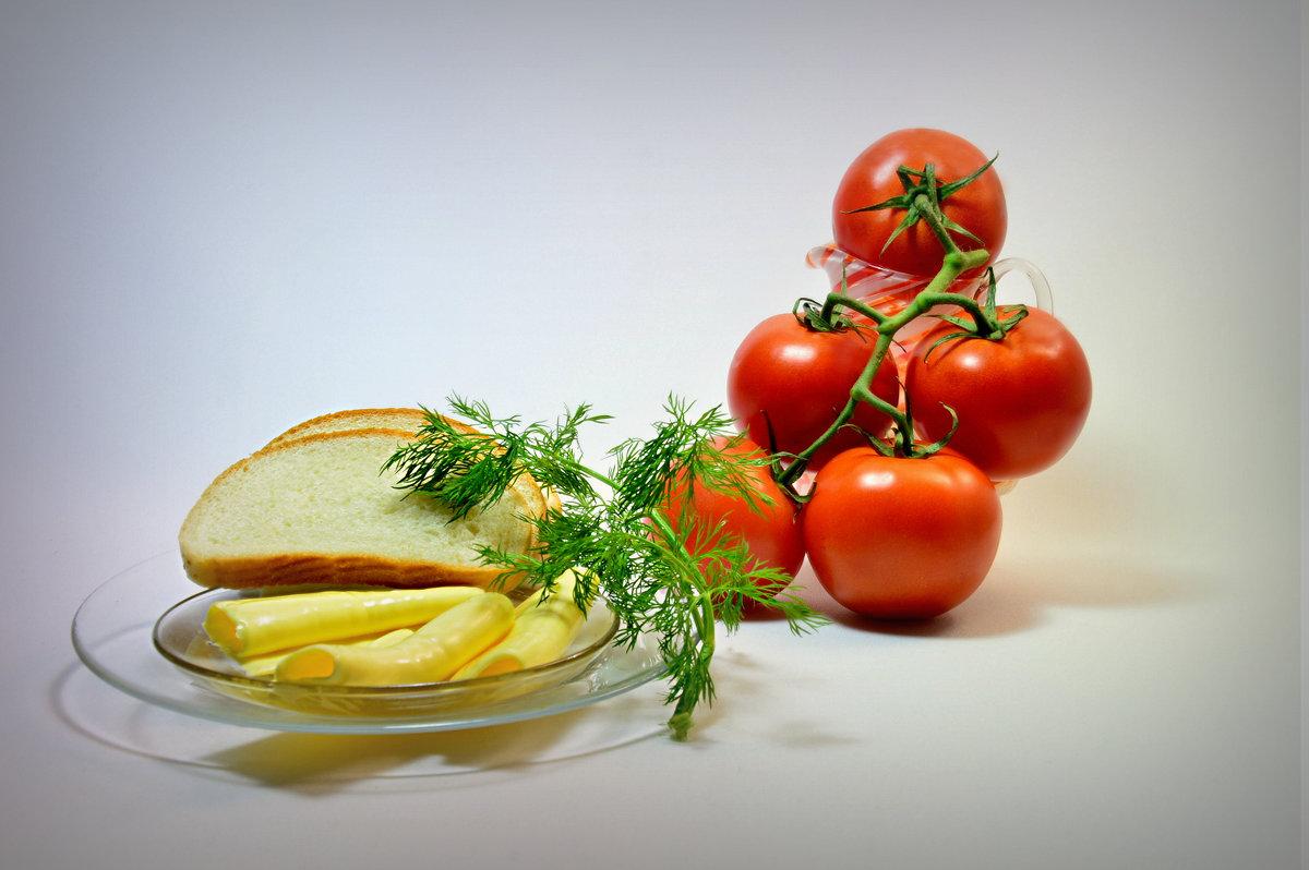 Просто помидоры и сыр - Наталия Лыкова