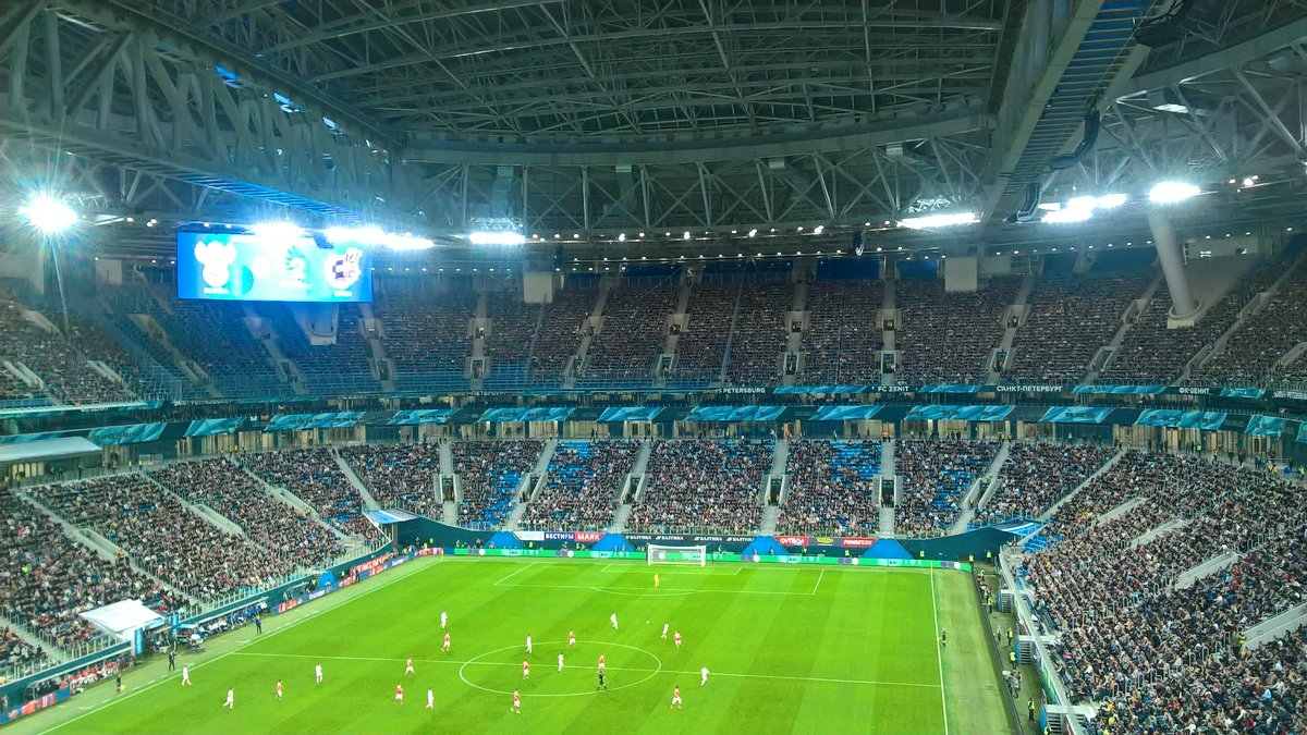 Стадион Петербург - Митя Дмитрий Митя