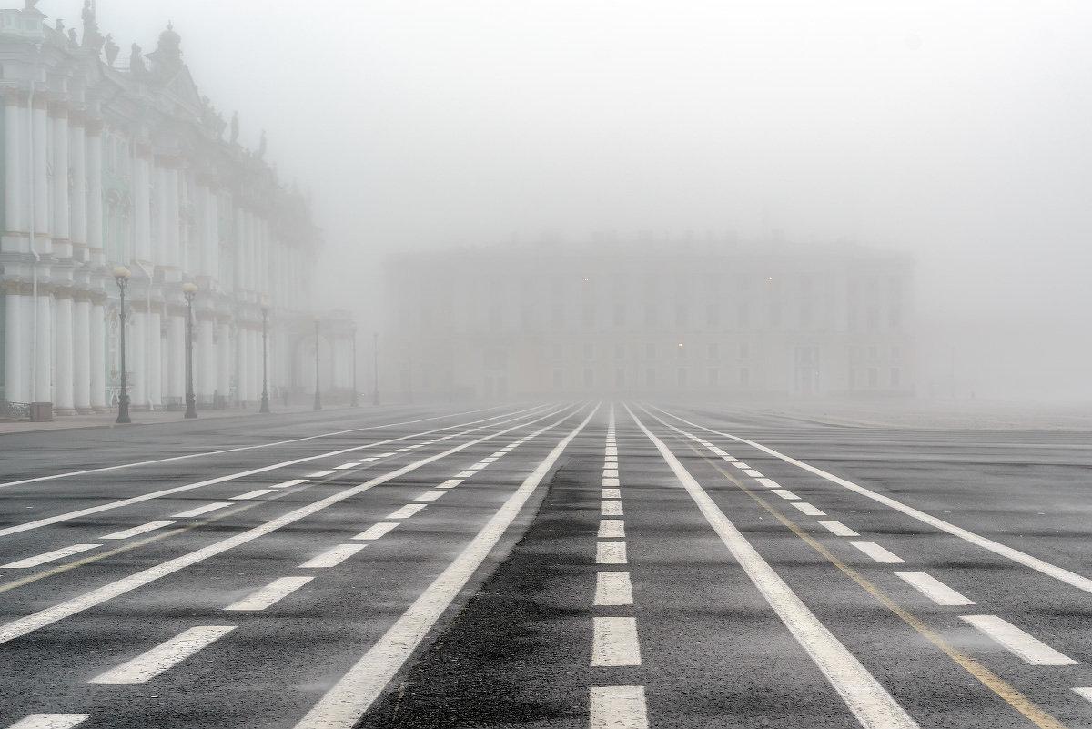 Дворцовая в тумане - Valerii Ivanov