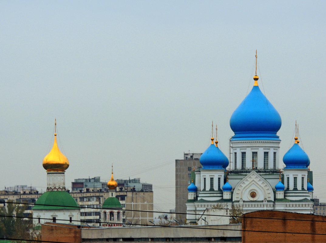 Москва. Николо-Перервинский монастырь. - Александр Качалин