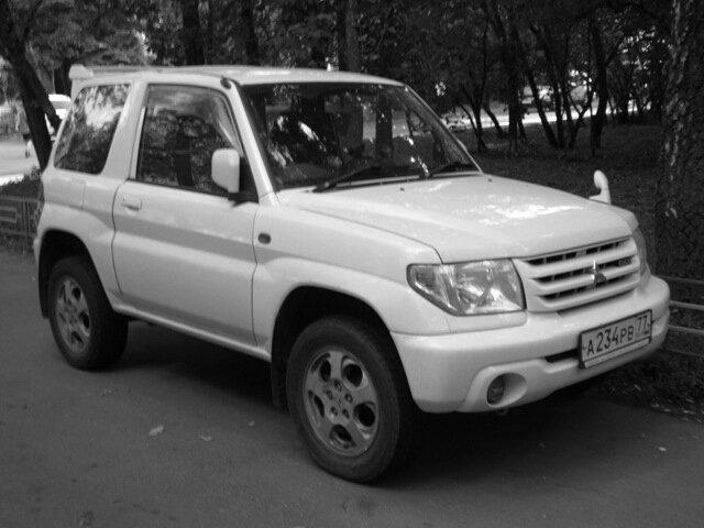 Белый джип Mitsubishi - Дмитрий Никитин