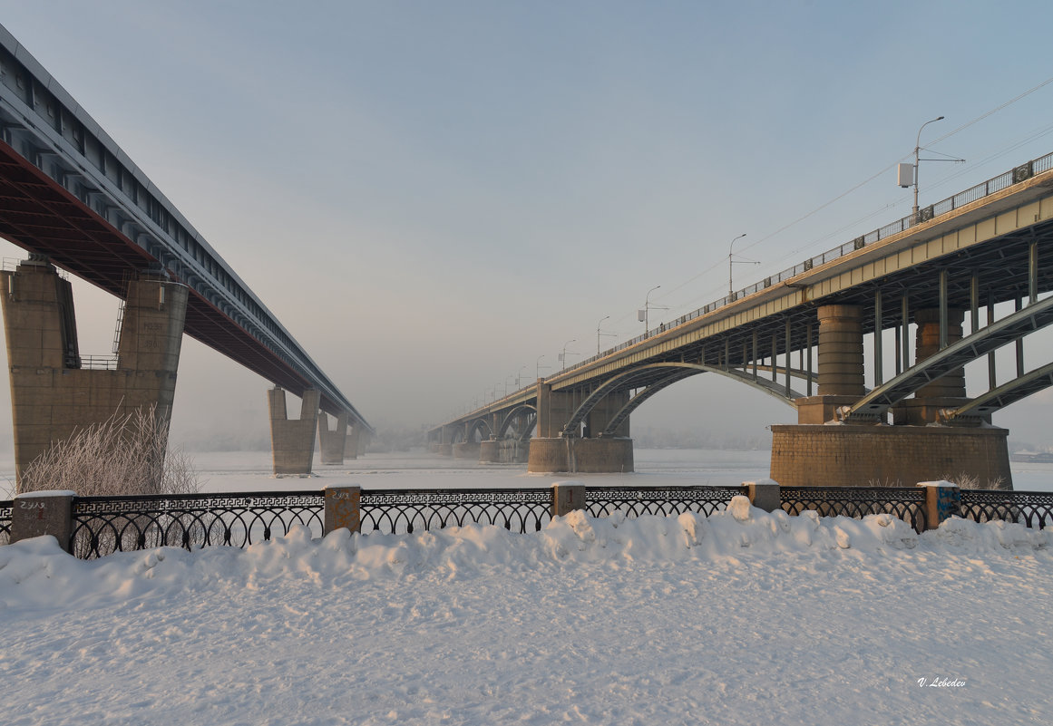 Октябрьский и метромост - cfysx