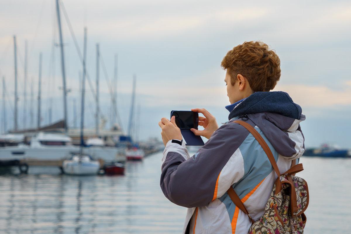 Туристка с мобильником - Диана Тимонина