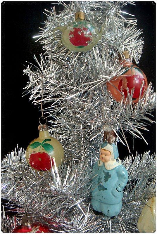 Ёлочные игрушки из 1956 года - Нина Корешкова