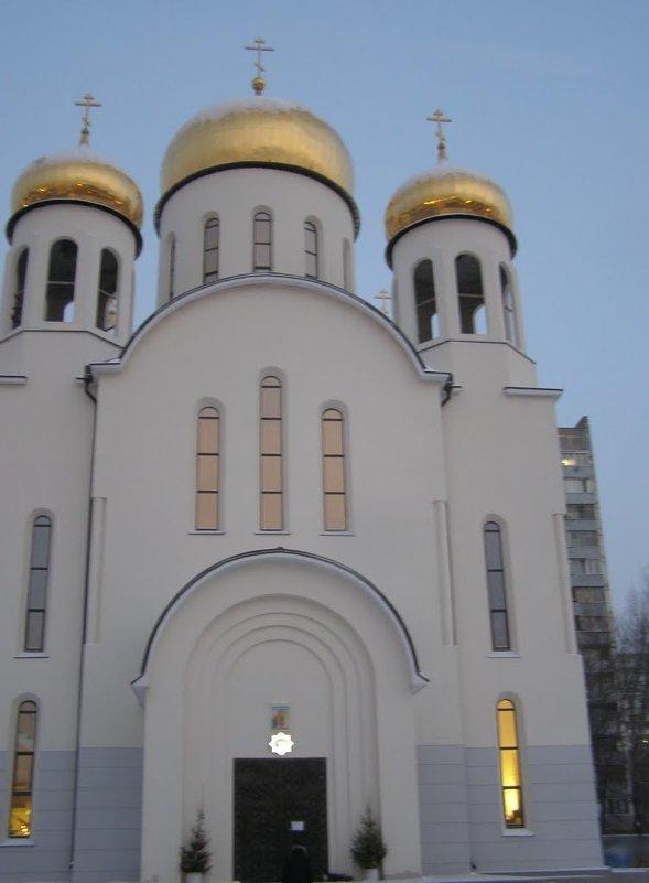 ц. Введения во храм Пресвятой Богородицы - Анна Воробьева