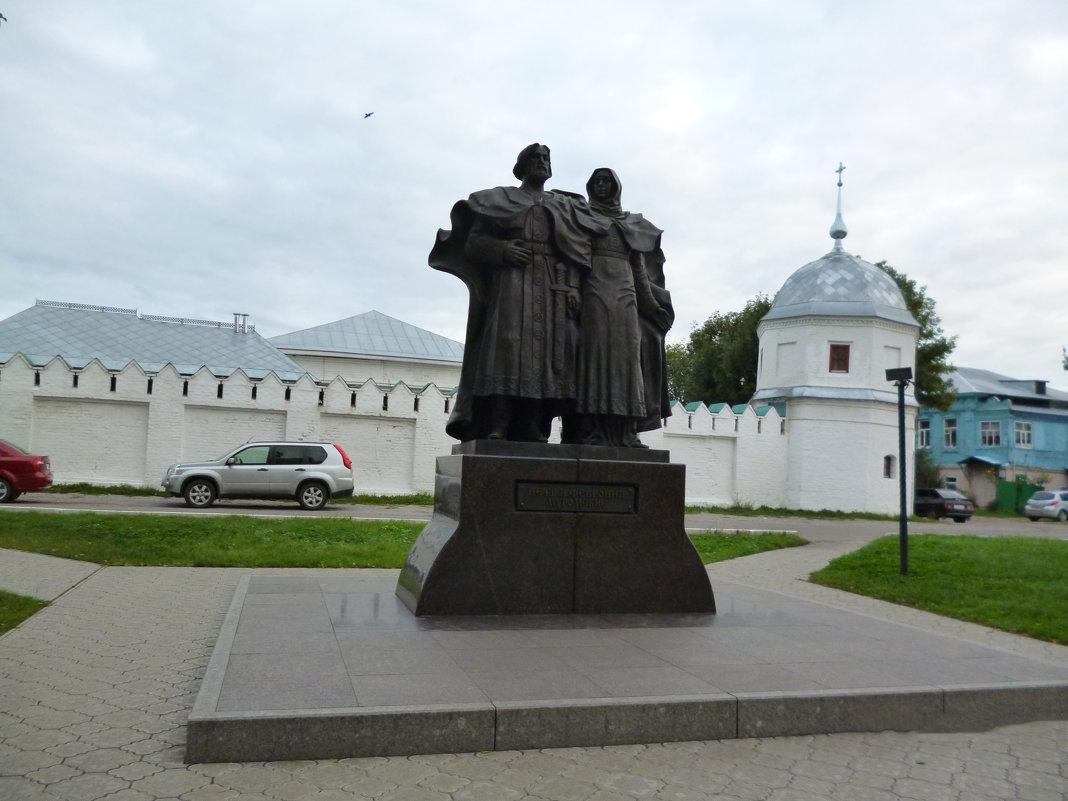 Петр князь с женой Февронией - Татьяна Са
