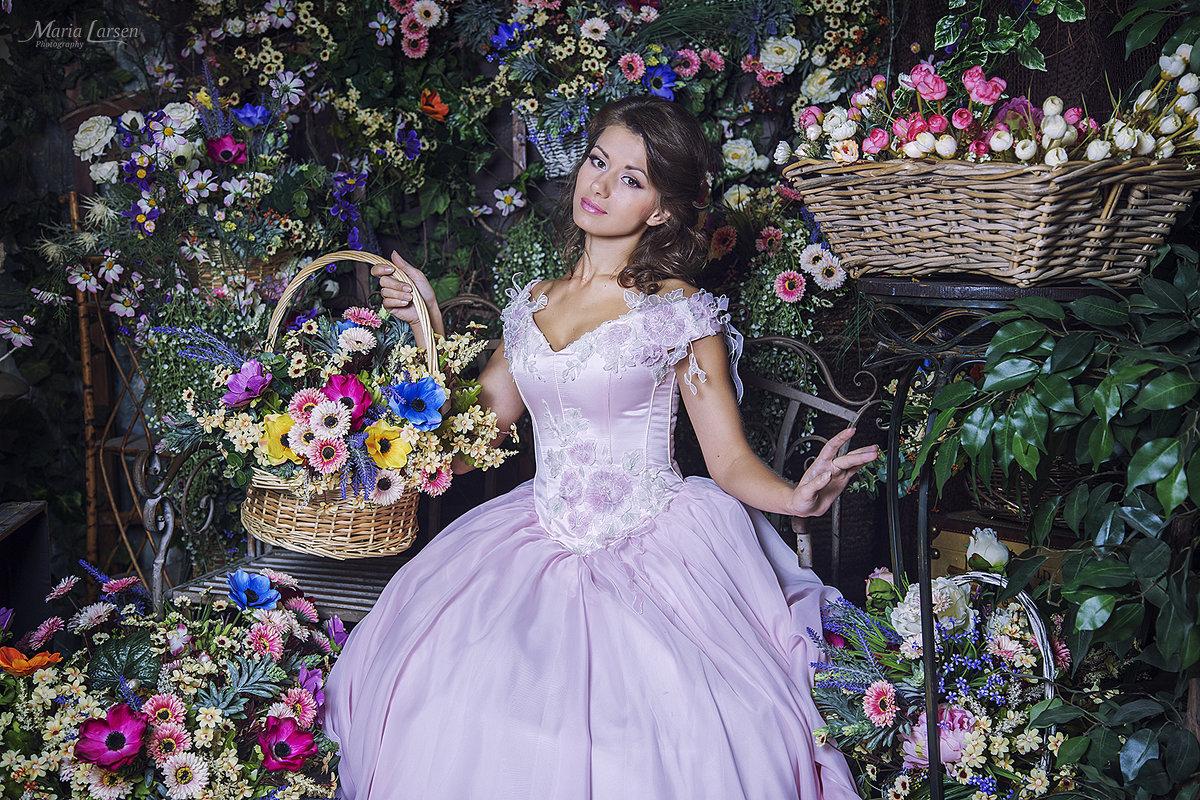 """Фотопроект """"Принцесса на горошине"""" - Мария Ларсен"""