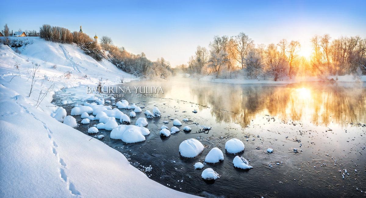 Зима в Подмосковье - Юлия Батурина
