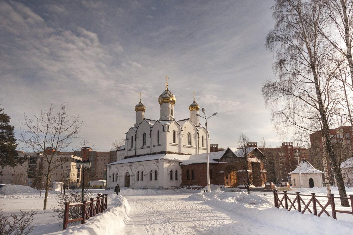 Церковь Рождества Иоанна Предтечи - Галина Сафиулина