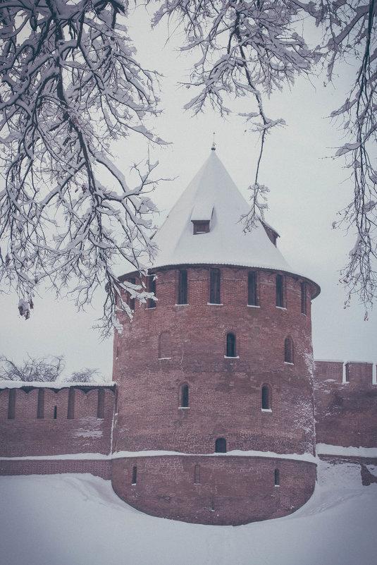 Новгородский кремль зимой - виктория иванова