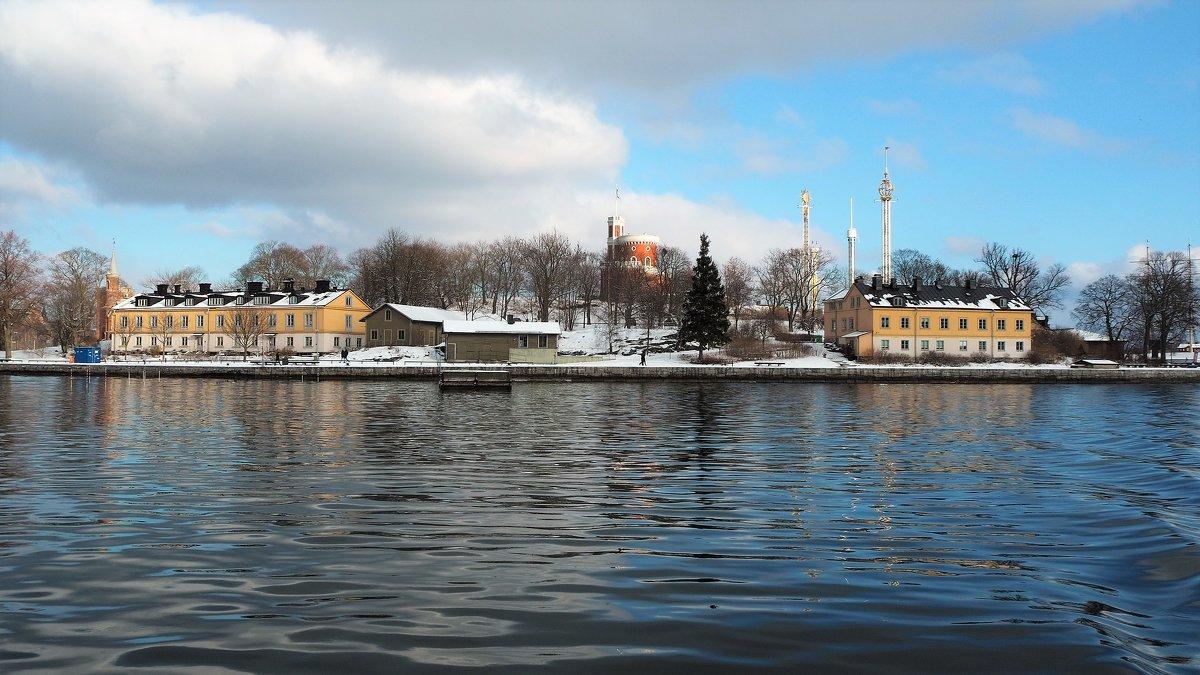 Стокгольм остров Skeppsholmen - Swetlana V