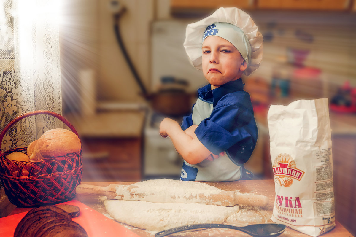 недовольный повар ) - Irina Novikova