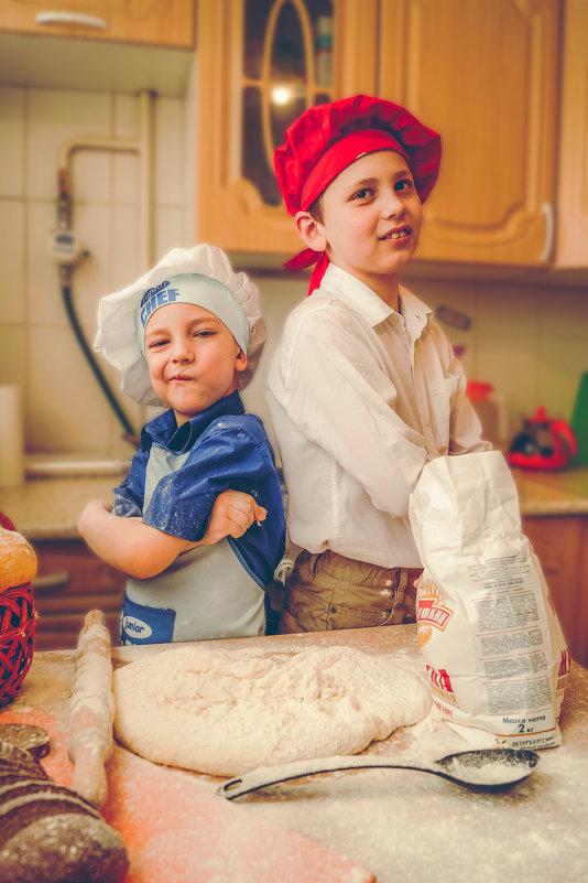 повар и помощник повара )) - Irina Novikova