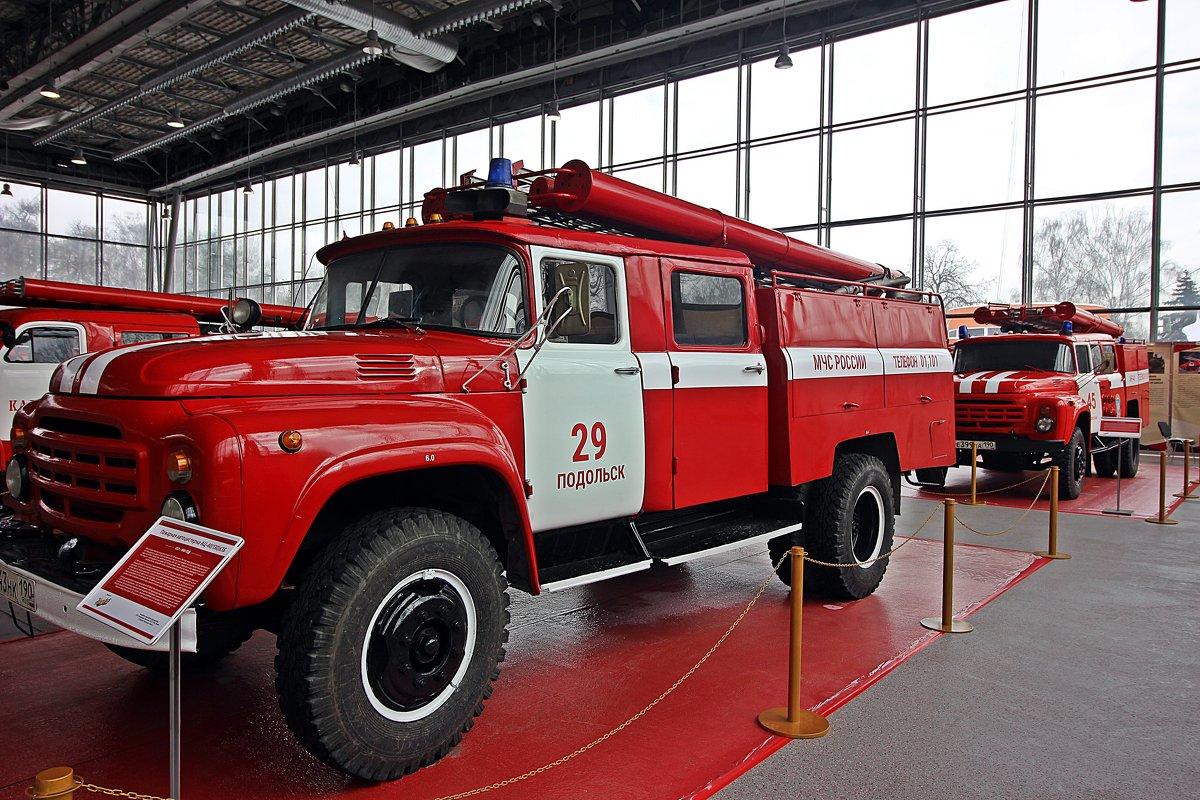 Вернёмся к  пожарной  технике! - Виталий Селиванов