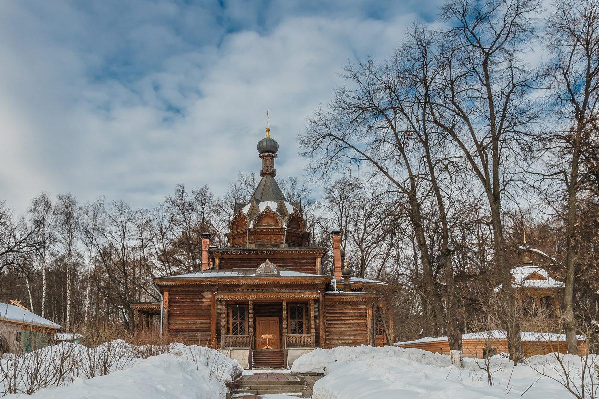 Деревянный храм святителя Тихона Задонского - Nyusha