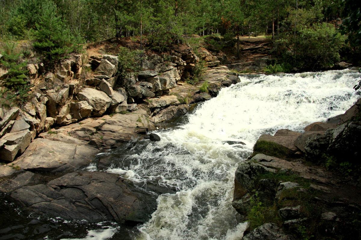 Южаковский водопад - Нэля Лысенко