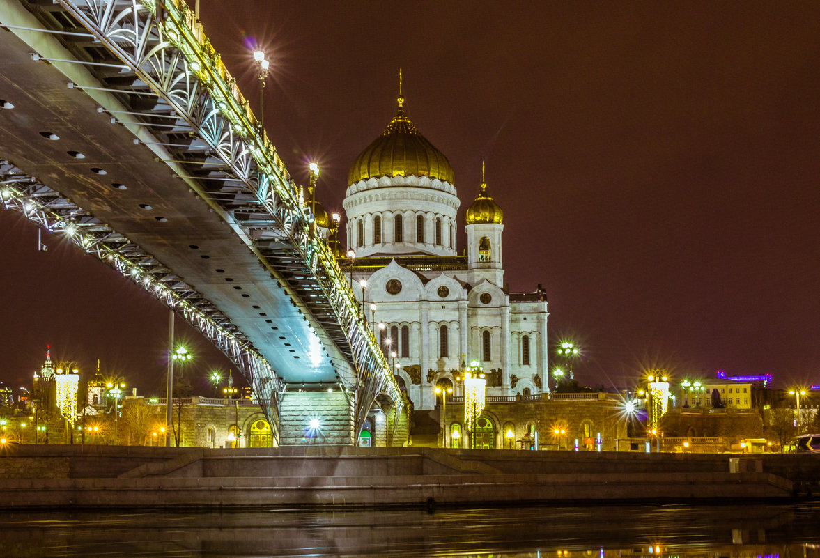 Храм Христа Спасителя и Патриарший мост - jenia77 Миронюк Женя