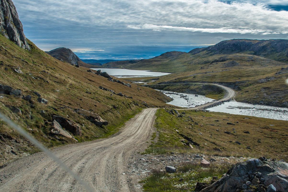 редкие дороги в Гренландии - Георгий