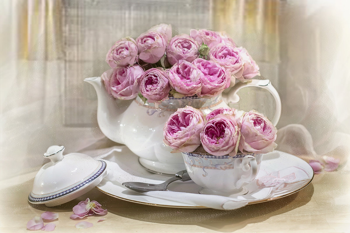 Розовый чай... - Bosanat