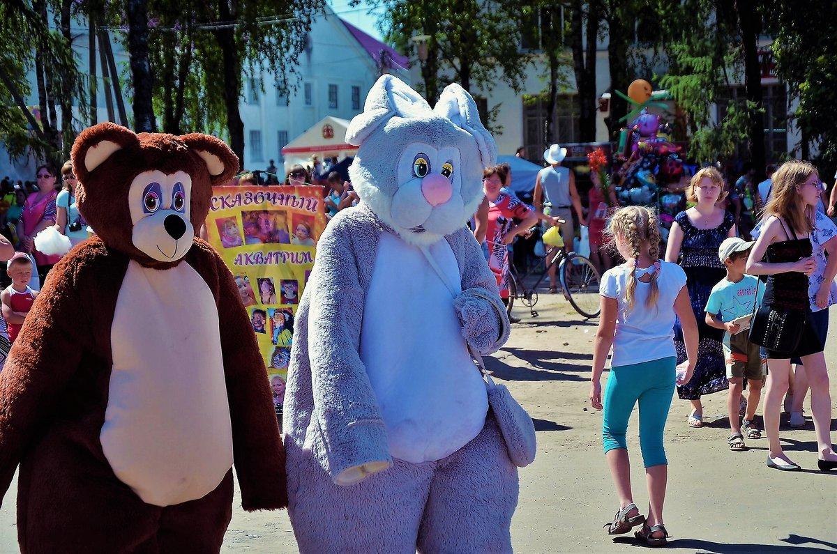 Миша и Зая... - Sergey Gordoff