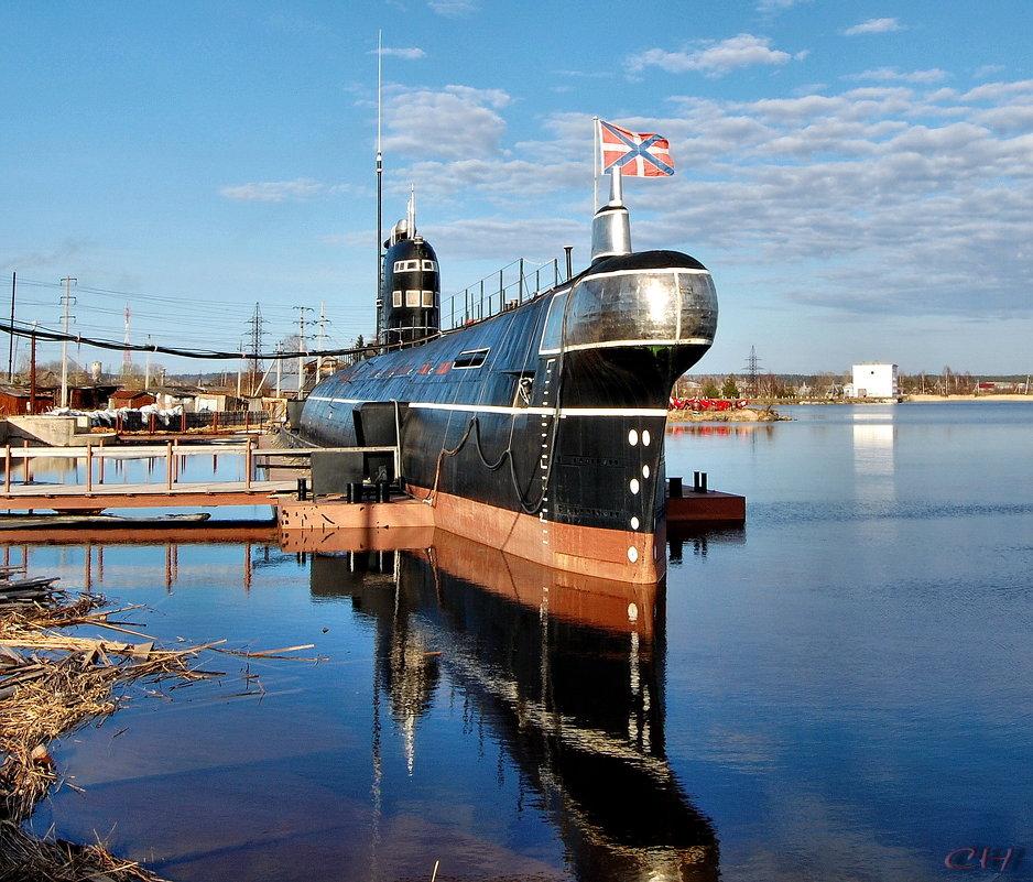 Вытегра. Подводная лодка Б-440 - Сергей Никитин