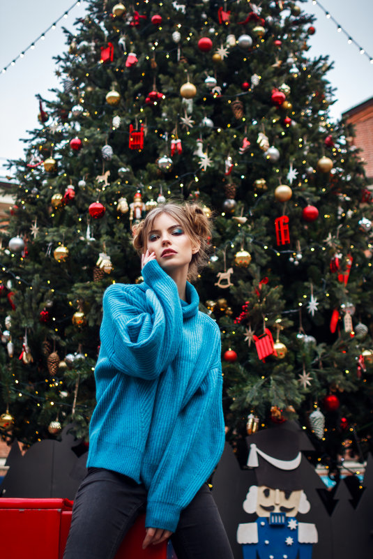 new year street style - Александра Реброва