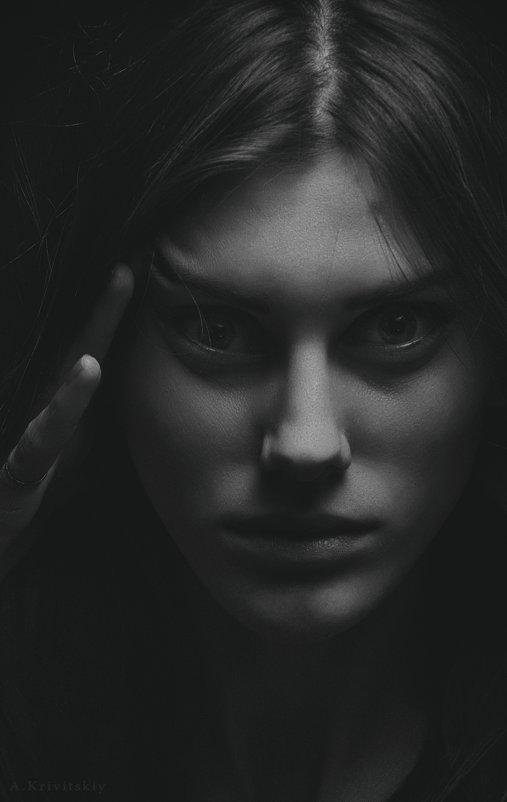 Portrait of chiaroscuro. - krivitskiy Кривицкий