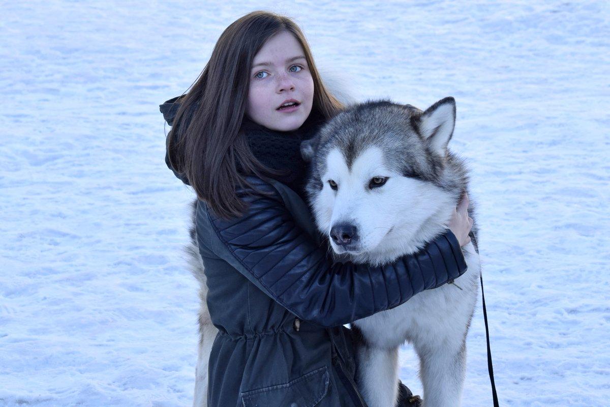 Девочка с собакой - Анастасия Недосекина