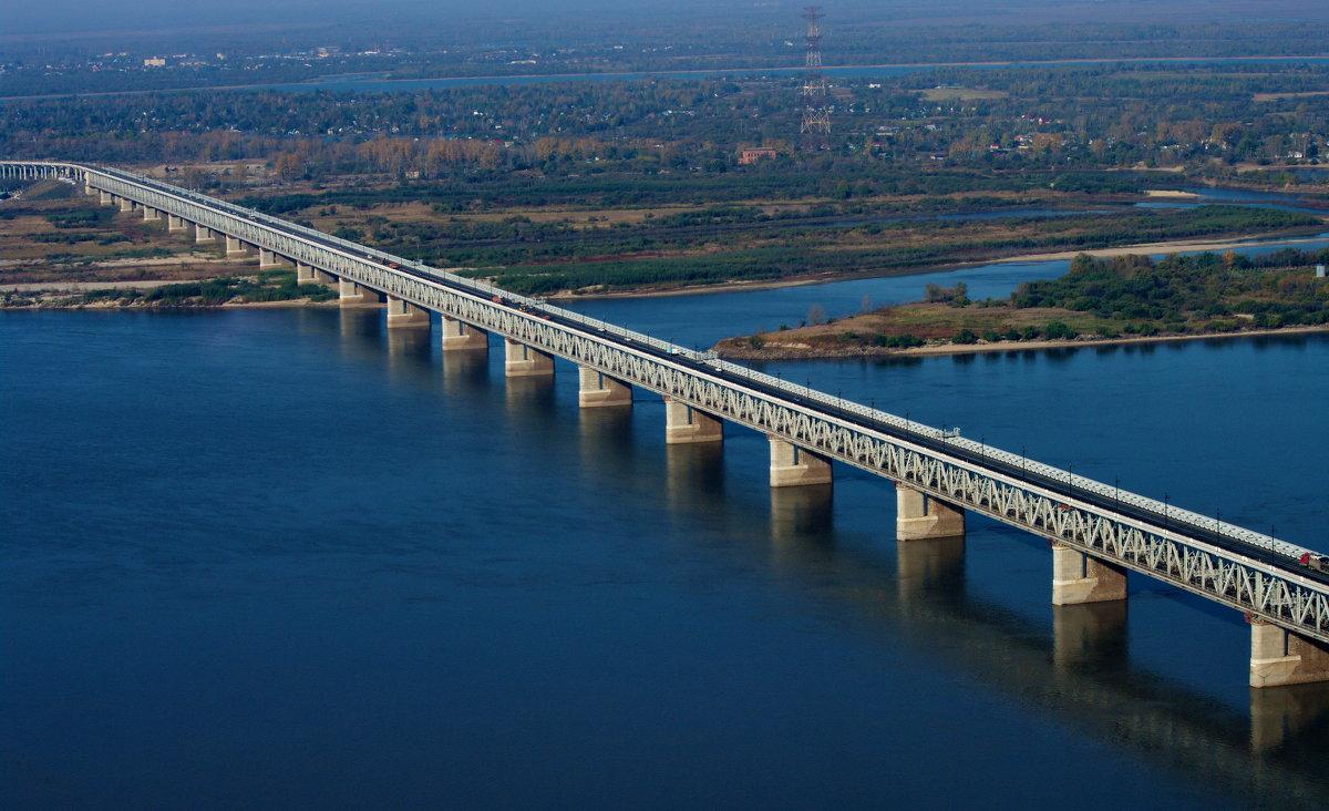 Мост через Амур - Михаил Сипатов
