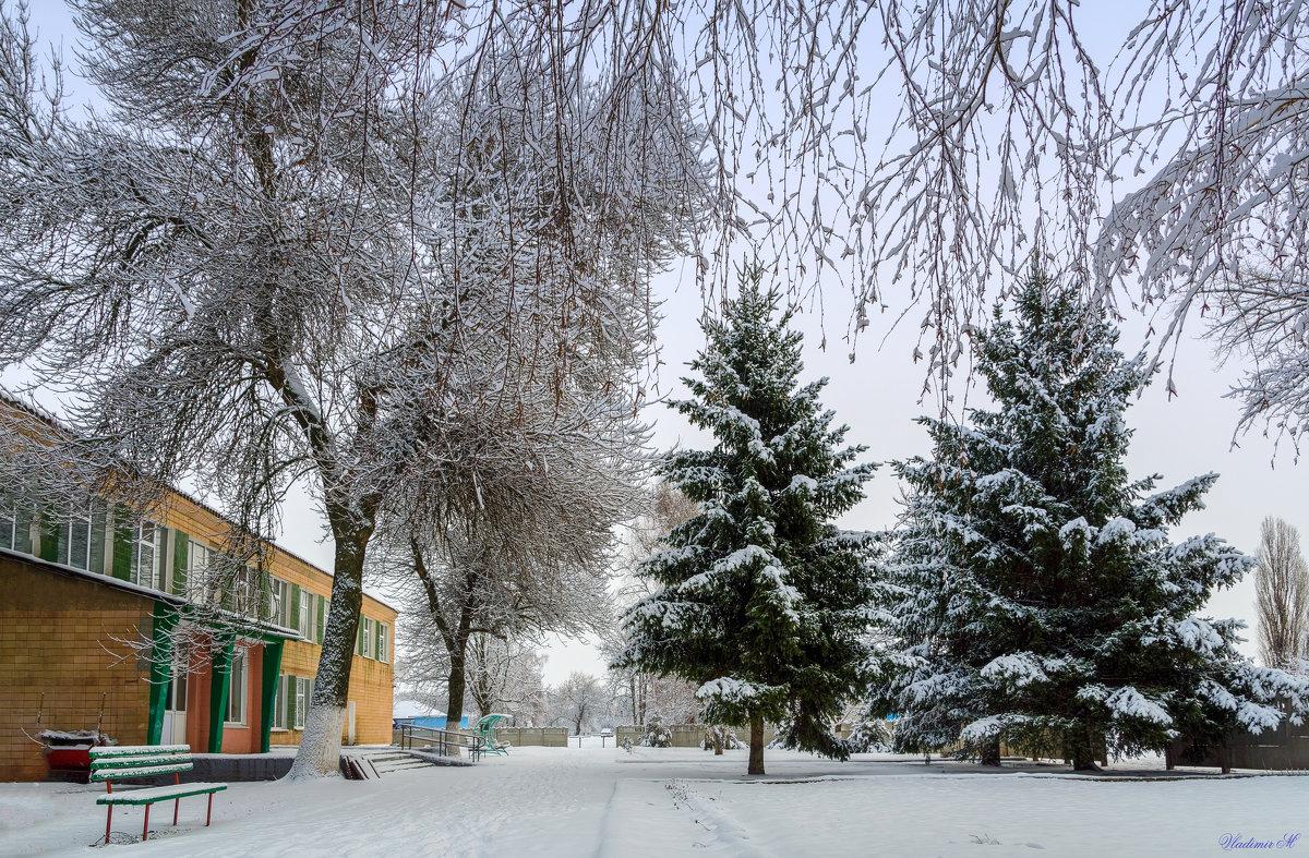 Снежные кружева. - Владимир M