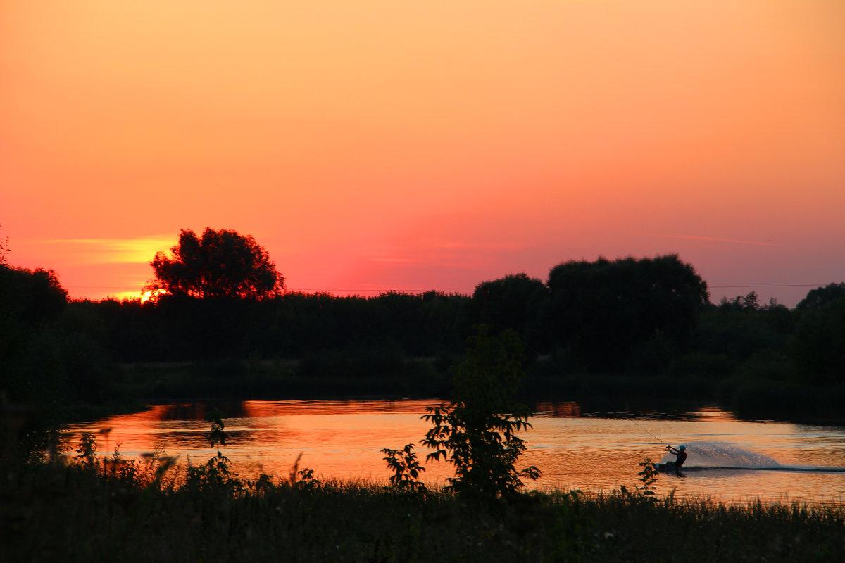 Летний вечер - Надежда Постникова