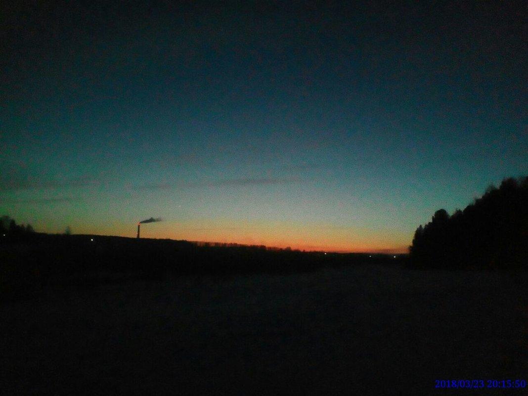 закат - alpman виктор