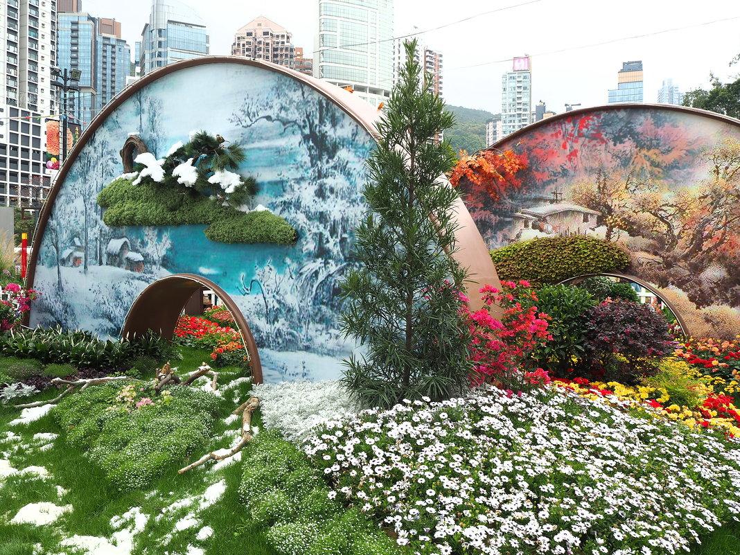 "Гонконг ""Парк Виктория"" - цветочное шоу - Swetlana V"