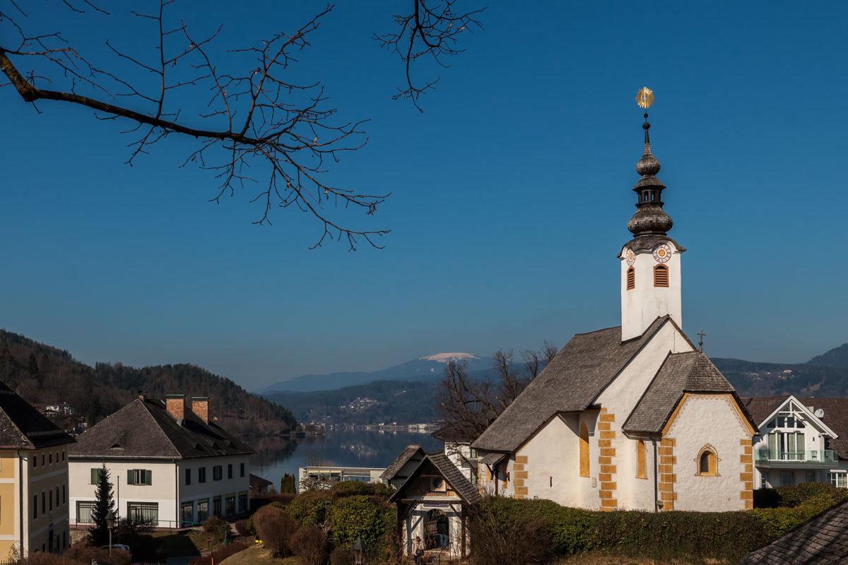 Мария Вёрт. Церковь Rosenkranzerkirche. - Надежда Лаптева