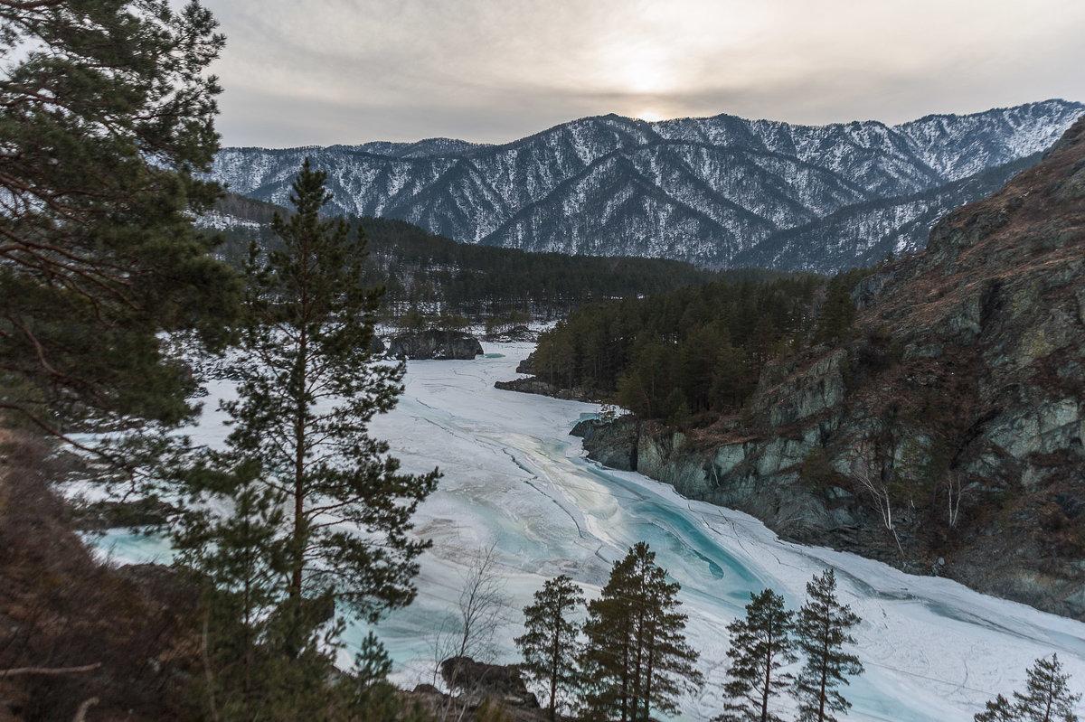 Бирюзовый лед Катуни - Ирина