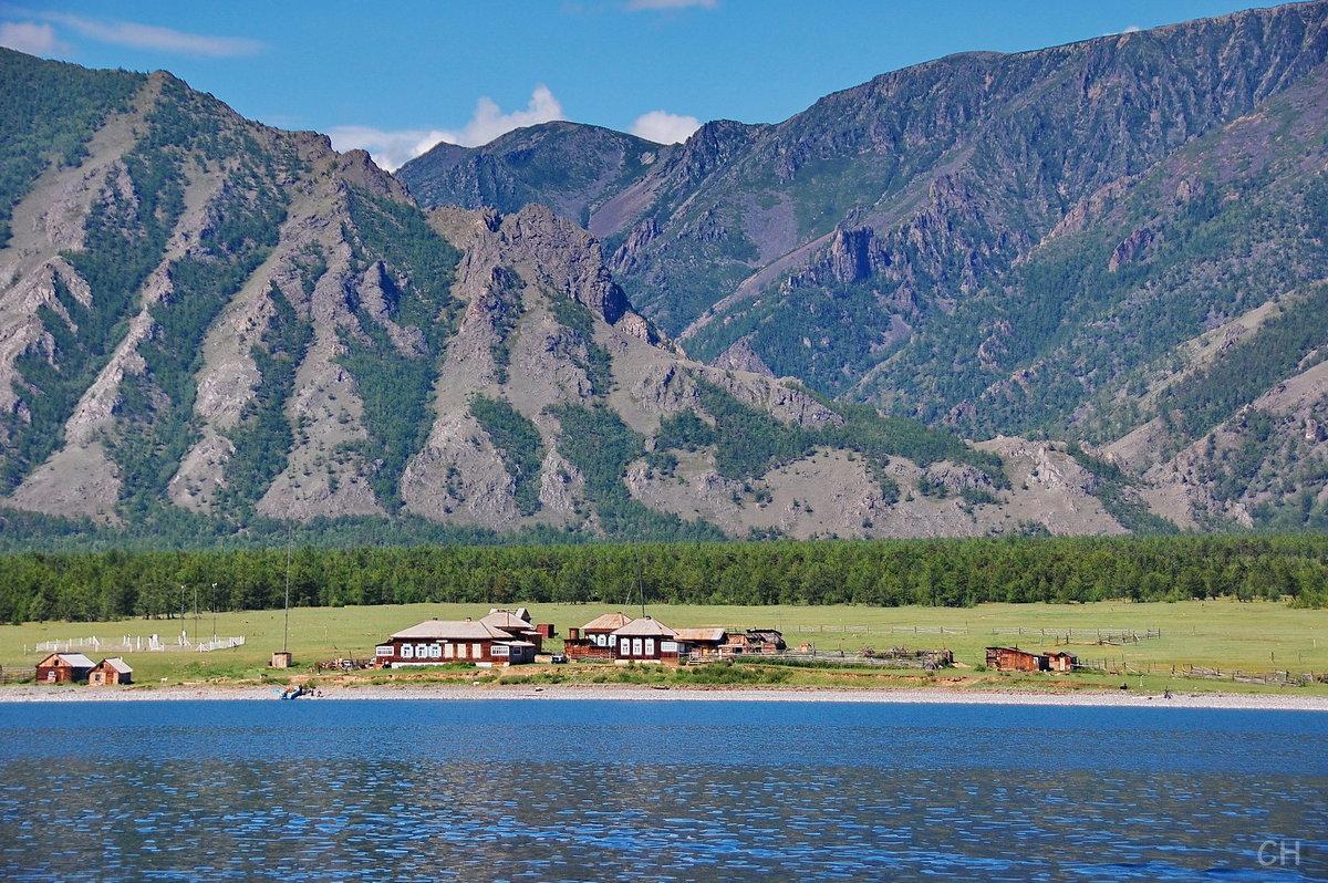Берег озера Байкал - Сергей Никитин