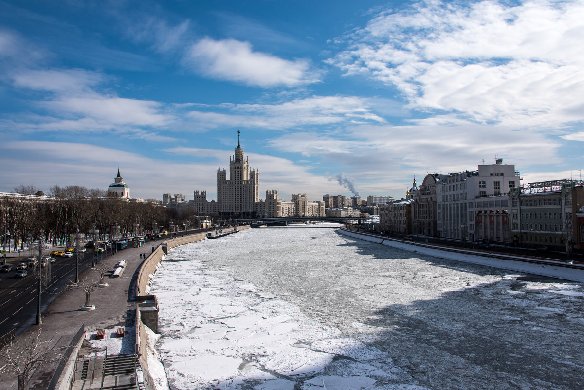 Москва-река. - Владимир Безбородов