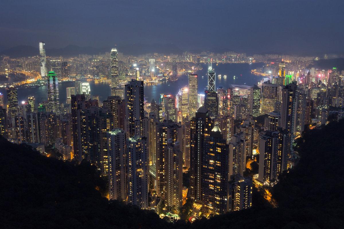 Гонконг с пика Виктория - slavado