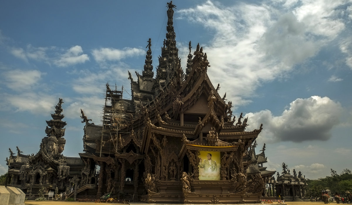 Храм Истины в Паттайе. Тайланд. - Rafael