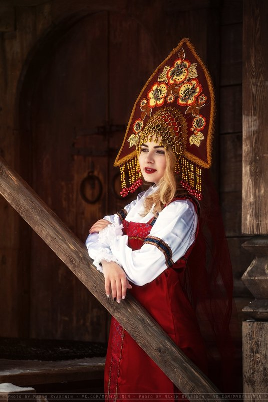 Русская краса - Максим Рябинин