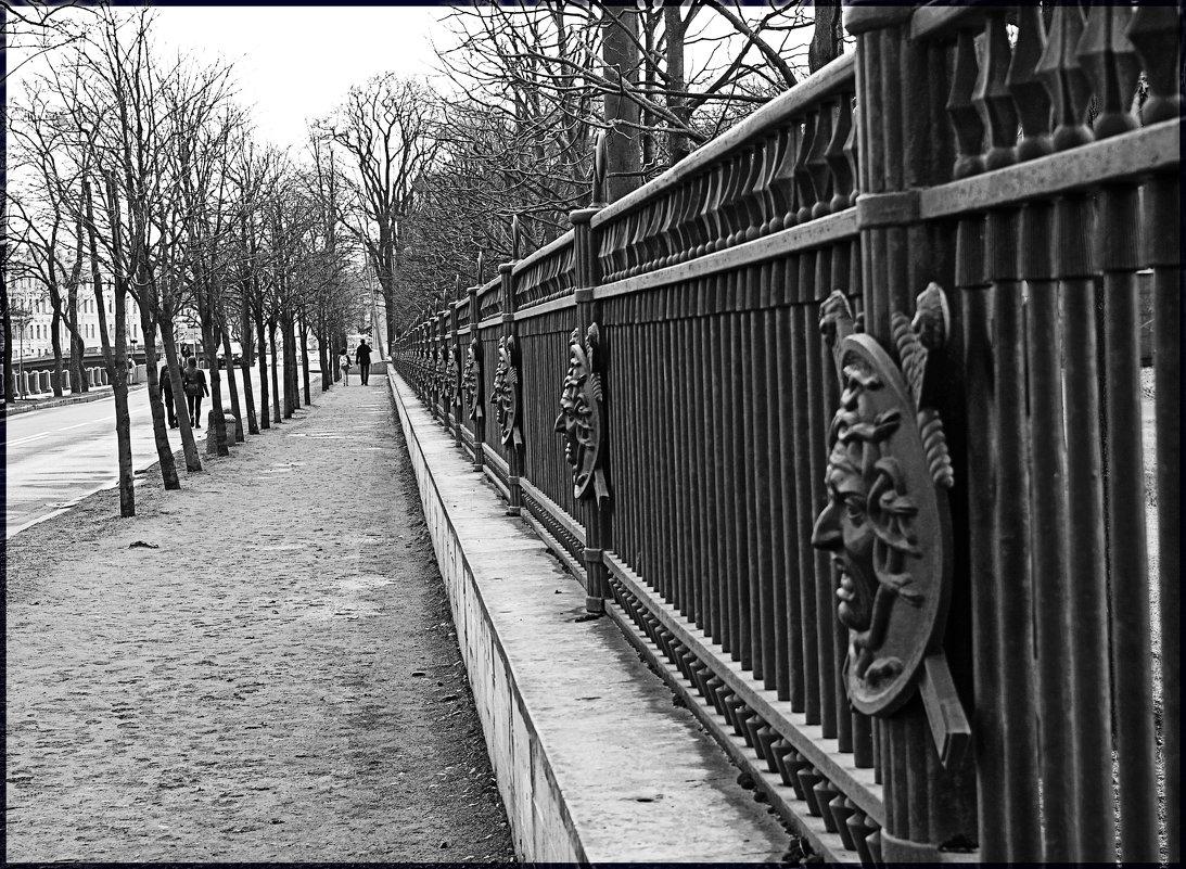 Ограда Михайловского замка - Nina Karyuk