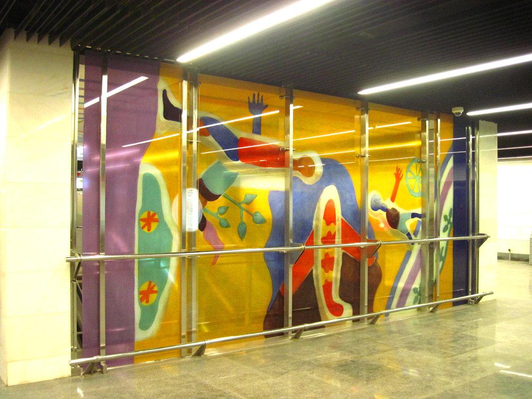 Новая станция метро Шелепиха - alek48s