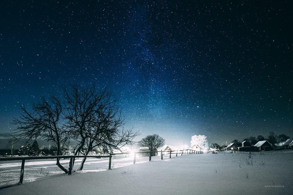 Ночь в деревне - Татьяна Афиногенова