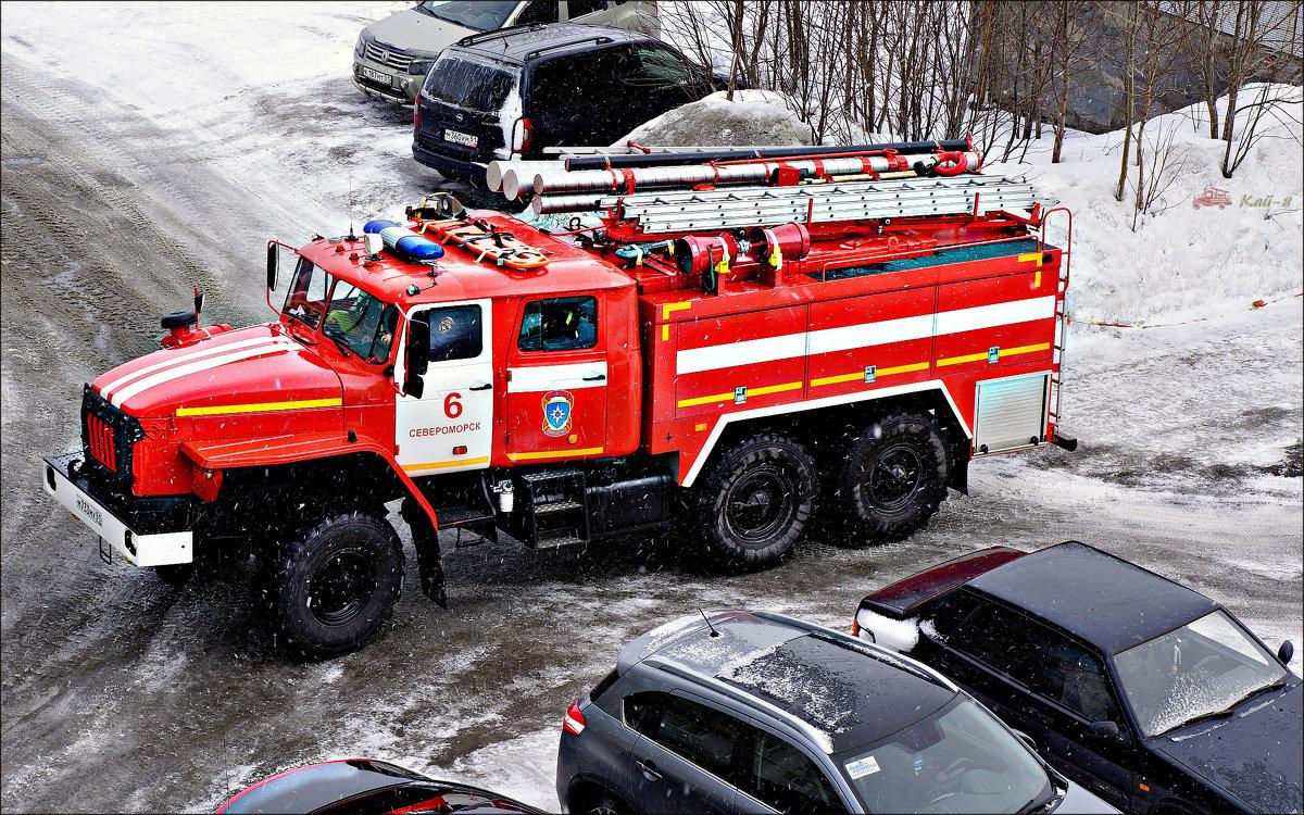АЦ (Автоцистерна пожарная)... - Кай-8 (Ярослав) Забелин