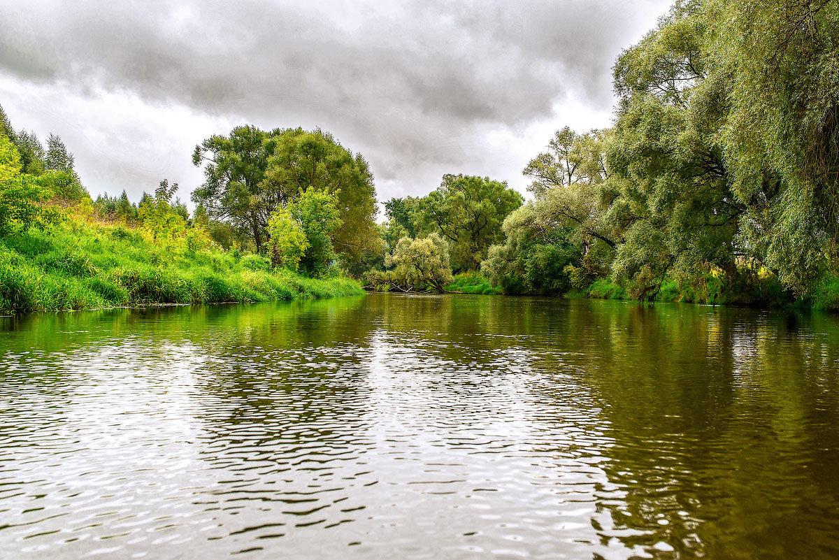 Река Истра. - Николай